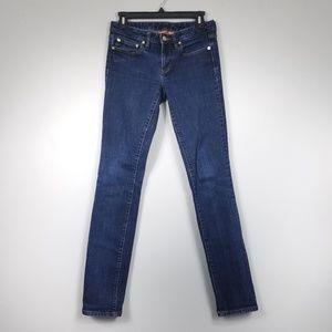 Tory Burch Super Skinny Dark Wash Jeans
